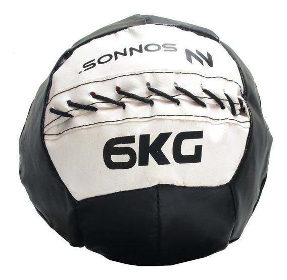 Mini Medicine Ball Pelota Medicinal Con Peso 6 Kg