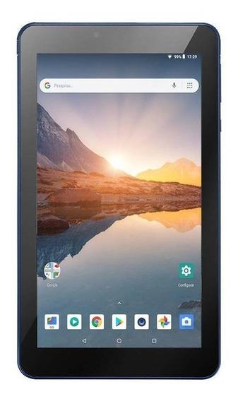"Tablet Multilaser M7S Plus 7"" 8GB azul com memória RAM 1GB"