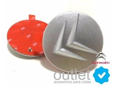 Calotinha Adesivo Miolo Centro Roda Citroen C3 Picasso 58mm
