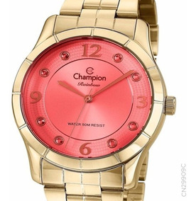 Relógio Champion Feminino Original Cn29909c + Nota F