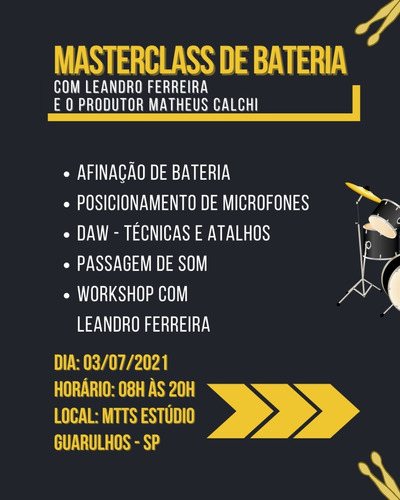 Workshop Leandro Ferreira E Matheus Calchi