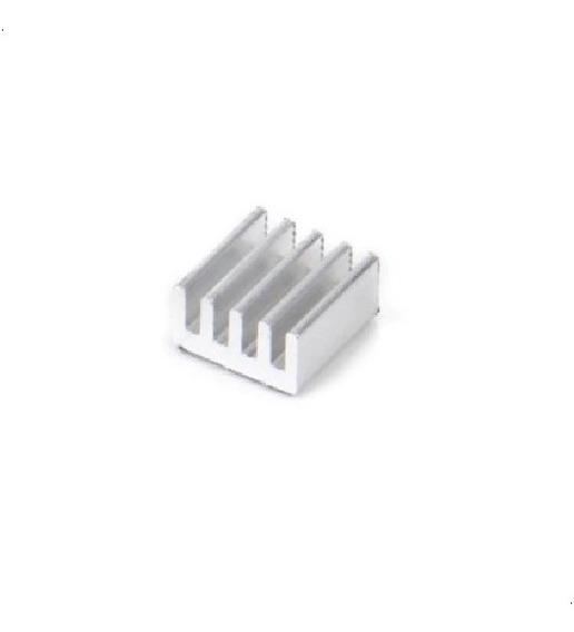 Kit X3 Disipador Aluminio 9x9x5mm Arduino Raspberry Led