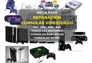 Mega Pack De Libros De Reparación De Consolas De Videojuegos