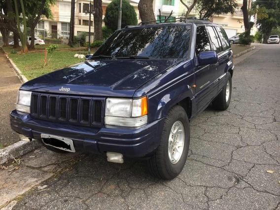 Grand Cherokee 1997 5.2 V8 Limited Manutenção Ok Mopar