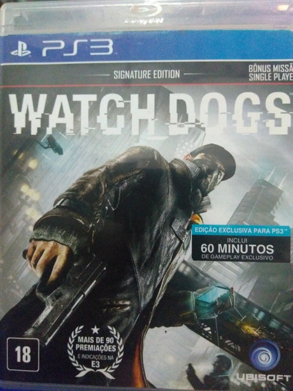 Watch Dogs Ps3 Original , A Pronta Entrega