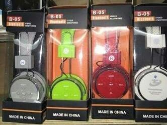 Fone De Ouvido Headphone Sem Fio Bluetooth Micro Sd Fm