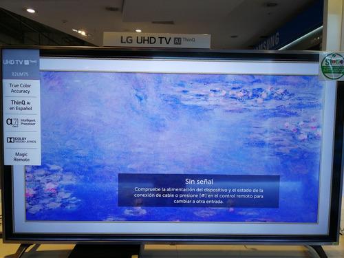 Imagen 1 de 1 de Televisor LG 82um7570pdb. Awc