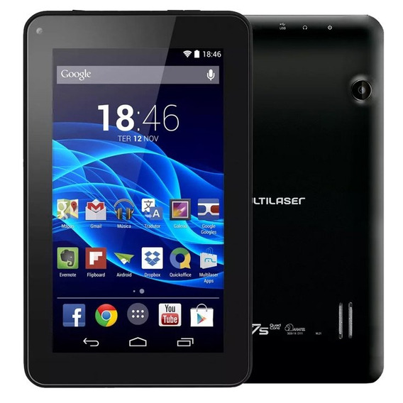 Tablet Multilaser M7s Plus Wifi Bluetooth 1gb Ram 8gb (nfe)