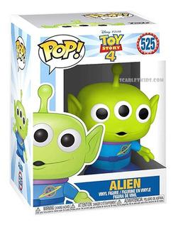 Funko Pop Toy Story 4 Alien 525 Original Disney Scarlet Kids