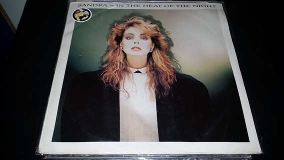 Sandra In The Heat Of The Night Vinilo Maxi Europe