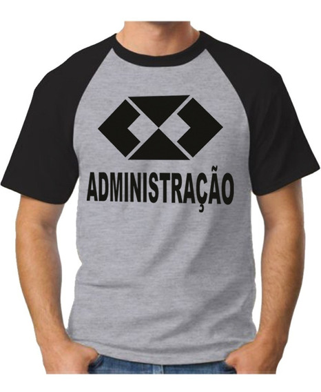 Camiseta Administracao Camisa Curso Gestao Blusa Adm Unissex