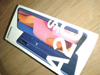 Celular Samsung Galaxy A20s-32gb Azul