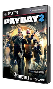 Payday 2 - Playstation 3 (ps3) - Mídia Física Nova Lacrada