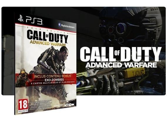 Call Of Duty Advanced Warfare Pt-br Ps3 Português Digital