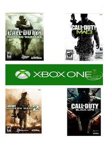 Jogos Xbox One ,mw1,mw2,mw3,bo1 ,original( Leia A Descrição)