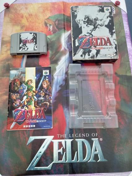 The Legend Of Zelda Ocarina Of Time Orig Nintendo 64 N64 Jap