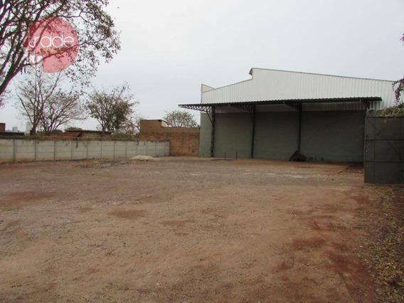 Terreno Para Alugar, 750 M² Por R$ 2.500/mês - Recreio Anhangüera - Ribeirão Preto/sp - Te0981