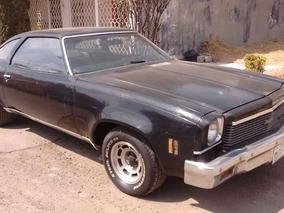 Chevrolet Malibu 1973 Con Placas De Auto Antiguo