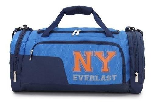 Bolso Everlast Gym Deportivo Reforzado Grande Colores 26217