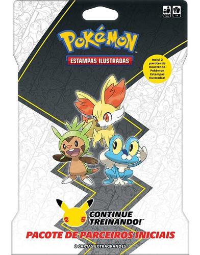 Card Game Pokémon Booster Blister Gigante Parceiros De Kalos