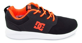 Tenis Dc Shoes Midway Sn Youth Adgs700021 Dsd Dark Shadow Gr