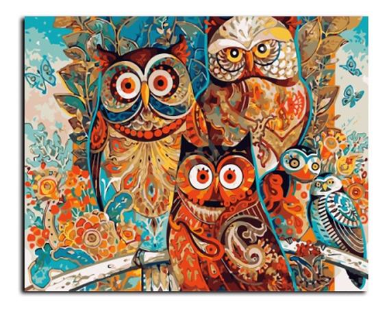Gx8849 40 * 50 Cm Pintura A Óleo Moldura Por Números , Art