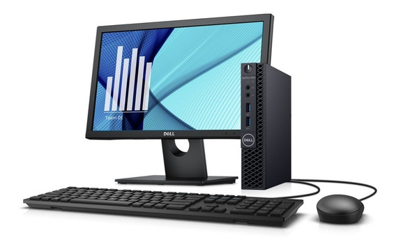 Computador Optiplex 3070 Micro Intel Core I3 Win Pro+monitor
