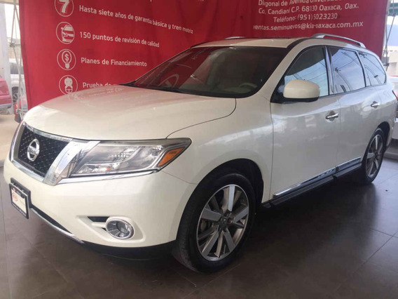 Nissan Pathfinder 2015 5p Exclusive V6/3.5 Aut Awd