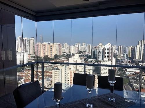 Apartamento 3 Dormitorios A Venda No Tatuape Em São Paulo. - Ph37121