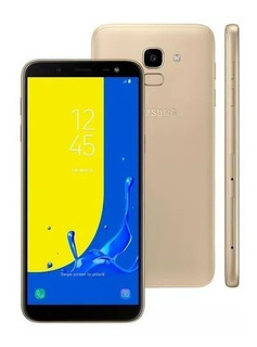 Celular Samsung Galaxy J6 13mp 4g + Sd 32gb Dourado Smj600