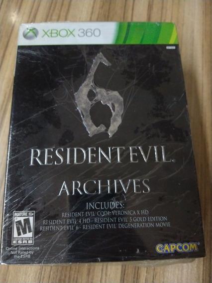 Resident Evil 6 Archives Mídia Física Lacrado Xbox360