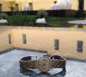 Relógio Omega Ouro Branco E Diamantes (uma Verdadeira Joia)