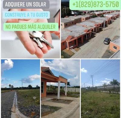 Venta De Solares. Separa El Tuyo Con Tan Solo 5mil Pesos