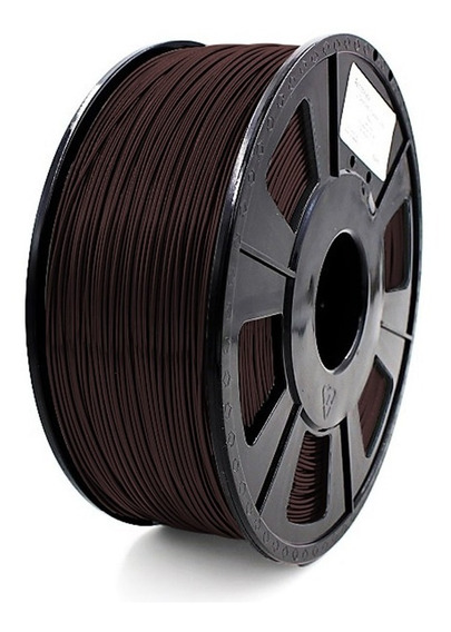 Filamento Pla 1,75 Mm Marrom 1kg Para Impressora 3d - Nota F