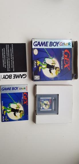 Gex Enter The Gecko Game Boy