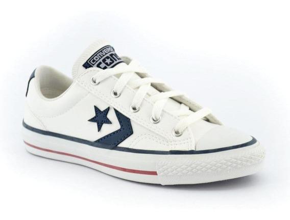 Zapatilla Converse Star Player Sl Blanco/azul