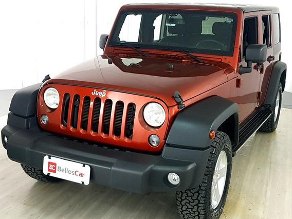Jeep Wrangler 3.6 Sport 4x4 V6 12v Gasolina 2p Automátic...