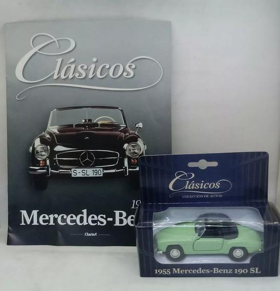 Coleccion Autos Clasicos Clarin Nº5 Mercedes Benz 190 Sl