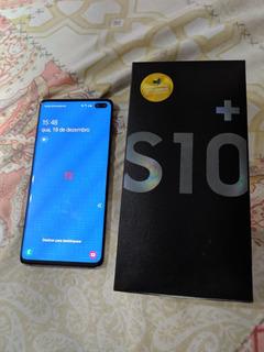 Samsung Galaxy S10+ Dual Sim 128 Gb Preto