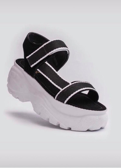 Sandália Chunky Buffalo Plataforma Tamborzim Original Zatz