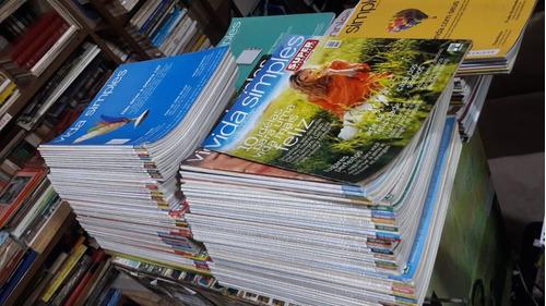 154 Revistas Vida Simples Incluindo As Primeiras Edições