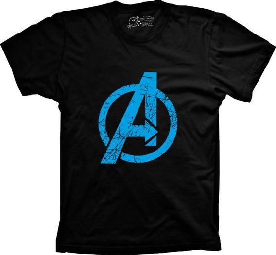 Camiseta Vingadores Vários Tams. Plus Size G1 G2 G3 G4