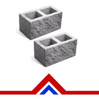 Bloque Cemento 19x19x39 Simil Piedra Pallet X 90u