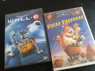 Wall-e-vacas Vaqueras-coleccion Disney - Pixar-dvd-2008
