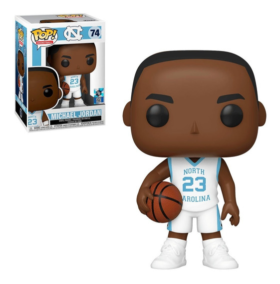 Funko Pop North Carolina Tar Hills - Michael Jordan #74