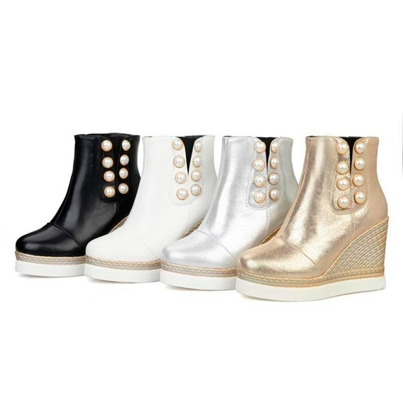 Ankle Boot Feminina Morazora 04309 Importado Frete Grátis