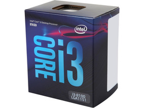 Processador Intel® I3 8100 3.60ghz 6mb 8ª Geração Lga1151