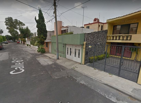 Remate De Casa En San Juan De Aragon 1v Secc .