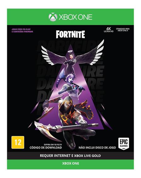 Fortnite - Pacotão Fogo Sombrio - Xbox One - Lacrado