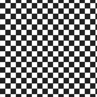 Adesivo De Parede E Piso De Xadrez Damas Preto E Branco 6x6c